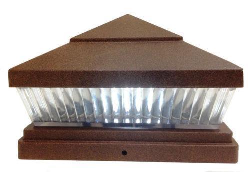 5x5 Solar Post Lights Ebay