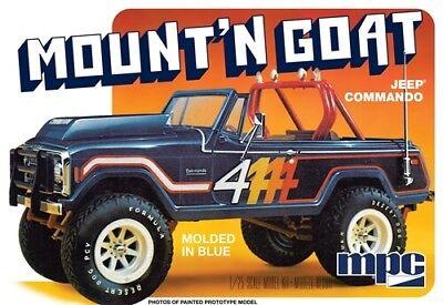 MPC 1/25 Jeep Commando Mount 'N Goat Plastic Model Kit MPC887
