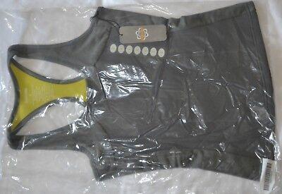 01 Zaggora Hot Top gray size S CELU-LITE Technology NWT