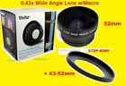 Fisheye Lenses for Nikon S 18-55mm Focal