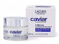 Lacura Caviar Illumination Anti Ageing 3 Minute Cell Renewal Peel Mask 50 ml