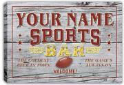 Sports Bar Decor
