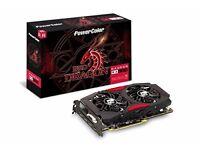 PowerColor AMD ATI Radeon PCI-E RX 580 Red Dragon 8 GB video graphics card