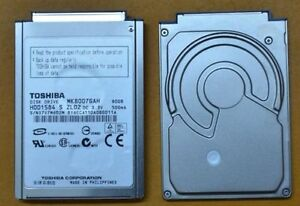 "80GB 1.8"" Laptop Hard Drive / ipod"