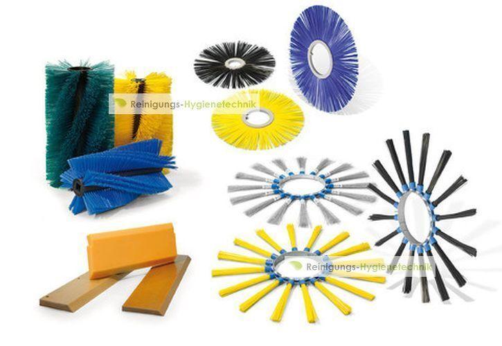 4 F Limpar 78 Sweeper Brushes Set Universal Poly 1,20 mm Universalbeborstung