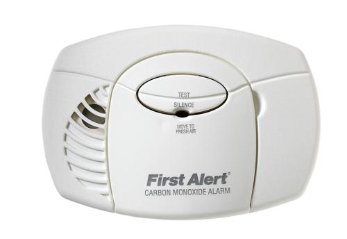 BRK Carbon Monoxide Alarm Battery Powered Electrochemical Se