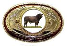 Leather Cow Belt Buckles for Men