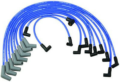 (Ford Racing 9mm BLUE Ignition Wire Set 5.8L 5.0L 351W 302 New Spark Plug Wires)