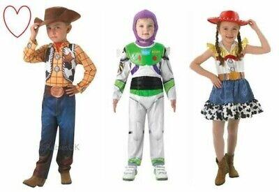 Mädchen Jungen Toy Story Kostüm Buzz Woody Jessie Büchertag Woche ()