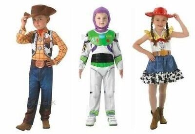 Kinder Toy Story Kostüme Kostüm Buzz Woody Jessie Mädchen Jungen