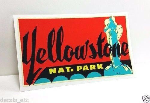 Yellowstone Park 1950