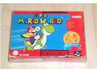 For Sale Super Nintendo Super Mario World