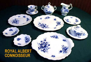 ROYAL ALBERT CHINA - CONNOISSEUR