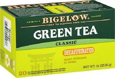 Bigelow® Green Tea Classic Decaffeinated Tea Bags .91