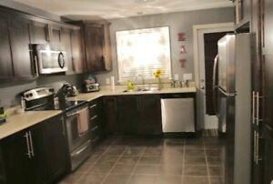 beautiful 3 br main floor. S'S appliances modern fixtures