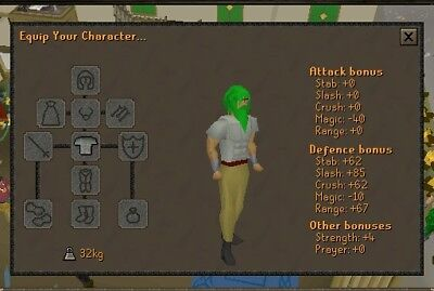 Torso Service Guide Runescape Osrs  1 Trusted Rs Seller On Ebay
