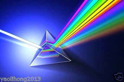 2014 Amazing Physics Teaching Quality Optical Glass Prism 2 5cm Light