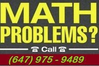 A+ MATH TUTOR IN SCARBOROUGH FOR LOW PRICES