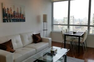 May: Furnished 2 Bedroom downtown suite next to Union