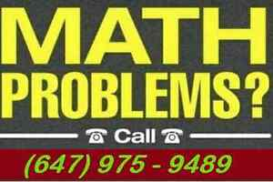 Math Tutor for Affordable Prices (Scarborough Only). Low Price.