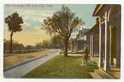 Port Douglas Salt Lake City Utah Old Postcard Pc891