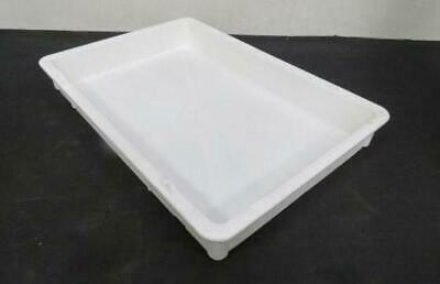 Plastic Pan 16 X 24 X 3 Dough Tray Doughmate Pizza Stacking Proofing Pickup Only