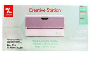 Laminator Sticker and Magnet Maker Xyron Creative Station 9""