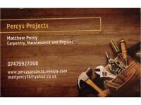 Carpentry, Maintenance and Repairs. No job too small.