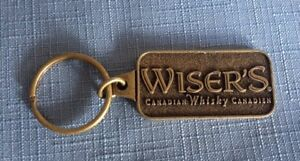 Vintage WISER'S Canadian Whisky Keychain Souvenir Canada Whiskey