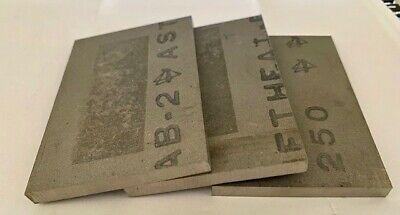 6.35mm Thick Titanium 6al-4v Sheet 0.250 X 2.430 X 3.600 Grade 5 Plate Ti Gr.5