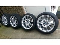 "18"" bmw m sport alloy wheels and tyres"