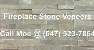 Everest Grey Fireplace Stone Veneer Grey Fireplace Wall Cladding
