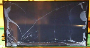 Broken Or Crack TVs HDTV LCD Plasma LED OLED Television