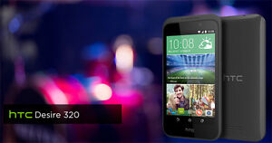 Brand New HTC Desire320 unlocked phone sealed   only 179$   CPU