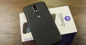 Unlocked Moto G4 Plus + Box and Turbocharger! w Android 7 Nougat