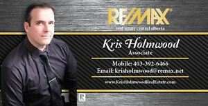 Kris Holmwood RE/MAX real estate central alberta Working for You