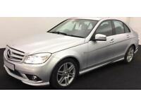 SILVER MERCEDES-BENZ C220 C250 D AMG LINE SPORT SE PREMIUM FROM £39 PER WEEK.