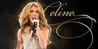 Céline Dion - Vendredi 9 Août - 4 Billets collés
