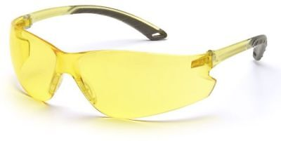 Pyramex Itek Safety Glasses With Amber Lens