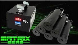 Neo neon Matrix Beam laser system