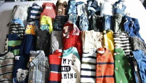 Used 39 Pc. Lot Of Newborn Baby Boy Clothes 3-6 Months Euc/vguc