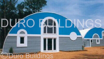 Durospan Steel 33x40x15 Metal Quonset Diy Home Building Kits Open Ends Direct