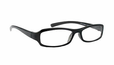 Palm Beach Reading Glasses +6.0 Clear Vision Impaired Stylish Black Frame](Beach Reading)