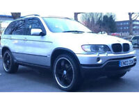 2003 BMW X5 SPORT 3.0 * AUTO *LEATHERS * PARKING SENSORS * ALLOYS * 12 MONTHS MOT *PX WELCOME