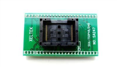 1pcs Tsop48 To Dip48 Sa247 Programmer Adapter Tsop48 Test Socket New Ic Zg