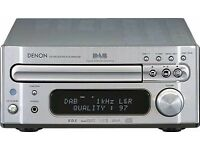 Excellent Denon + Monitor Audio Compact HiFi system