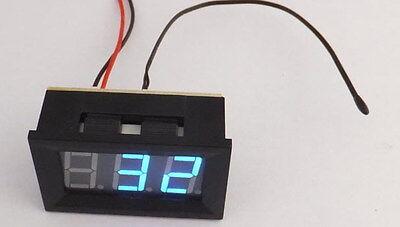 Mini Blue Digital Temperature Panel Meter -3070