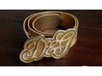 "Dolce & Gabbana belt • size 85 cm/34"" • VGC"