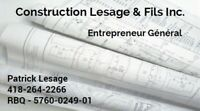 Construction Lesage & fils inc
