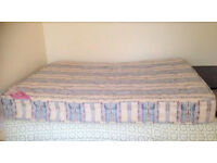 FREE Nice and clean mattress to 4'6 bed Need to go